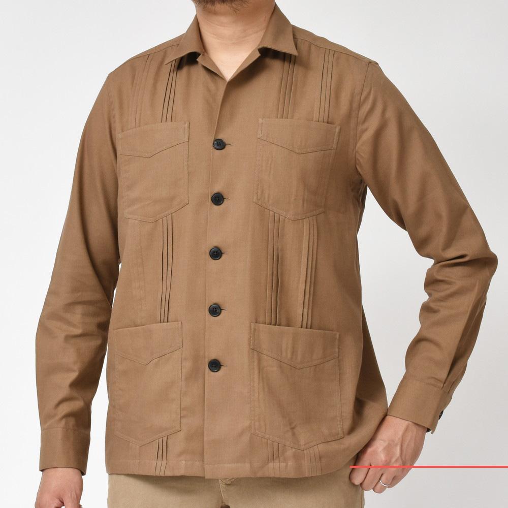 起毛系シャツがモダンです!<BR>BAGUTTA(バグッタ) シャツ2型