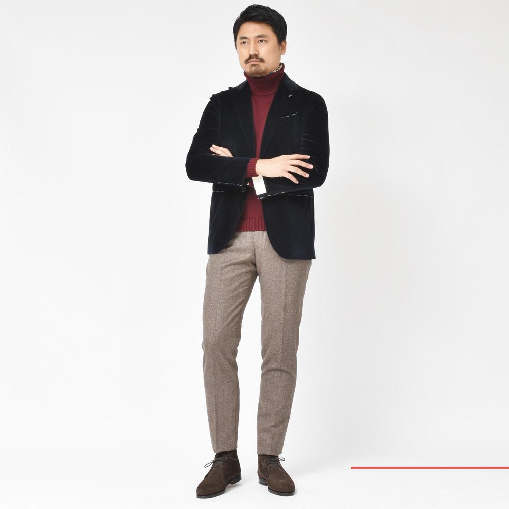 男ならやっぱりモテたいですよね!?<BR>De petrillo(デペトリロ)スーツ2型・ジャケット
