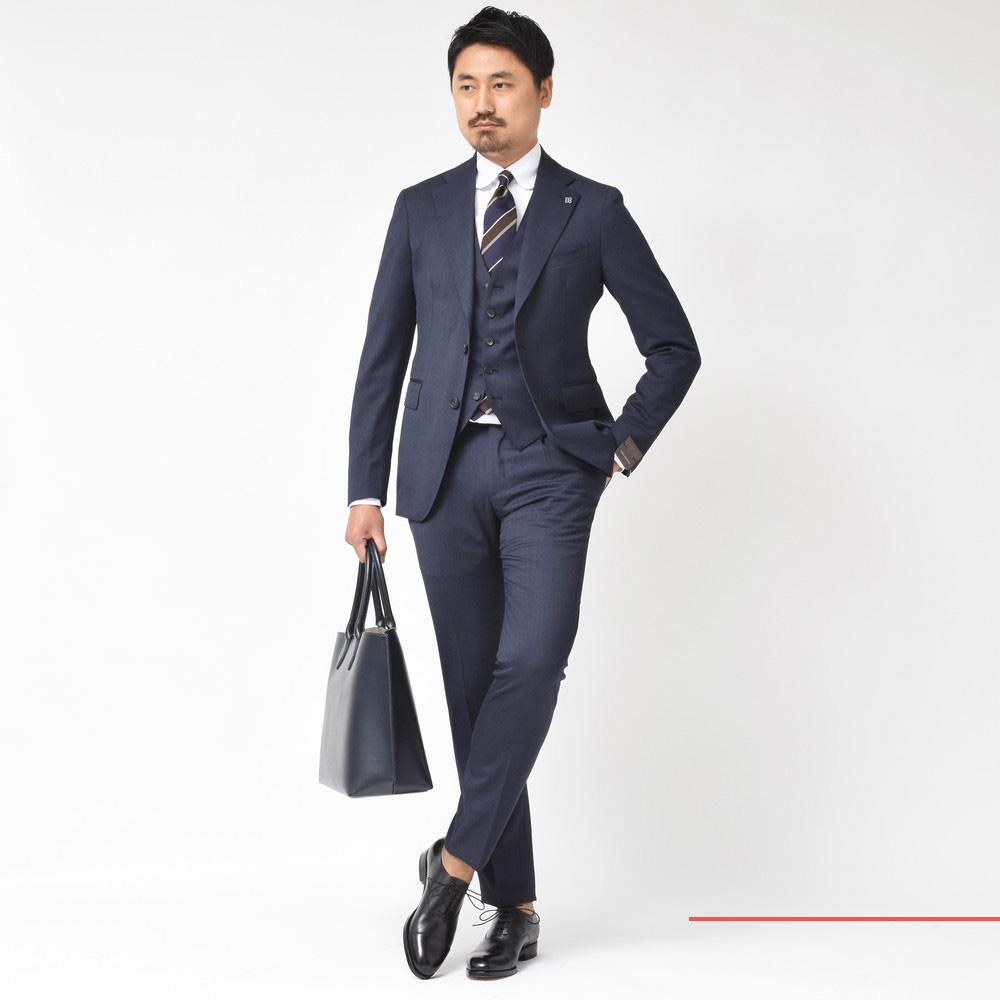 2018秋冬コレクション!<BR>TAGLIATORE(タリアトーレ)スーツ7型・ジレ4型