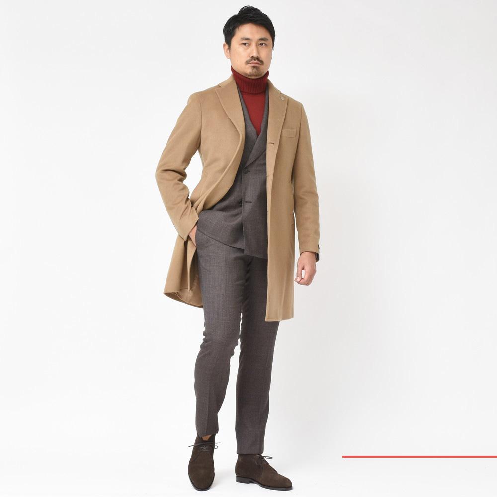 2018秋冬コレクション<BR>TAGLIATORE(タリアトーレ)コート2型・スーツ1型
