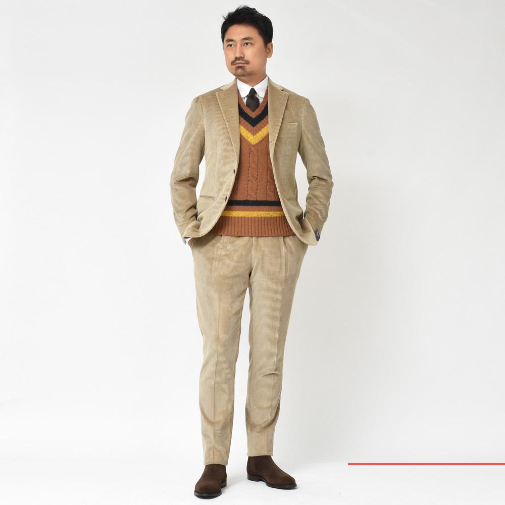 盤石の布陣!<BR>BARBA(バルバ)コート・ジャケット・スーツ3型