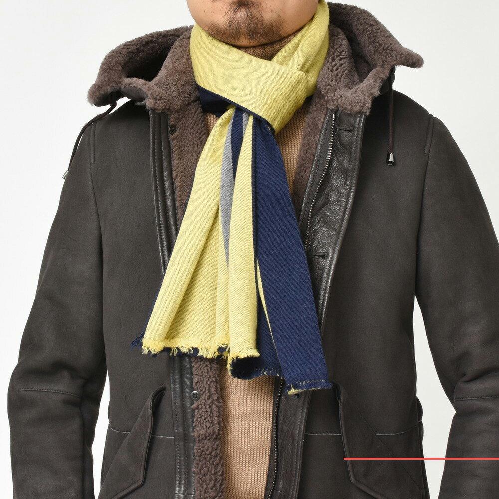 寒〜い冬に温もりと彩りを!GIERRE(ジエレ)ダブルフェイスマフラー3型