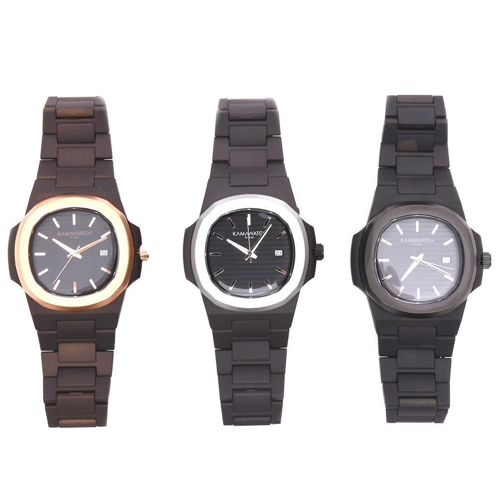差が付く腕元を演出!<BR>KAMAWATCH(カーマウォッチ)腕時計2型