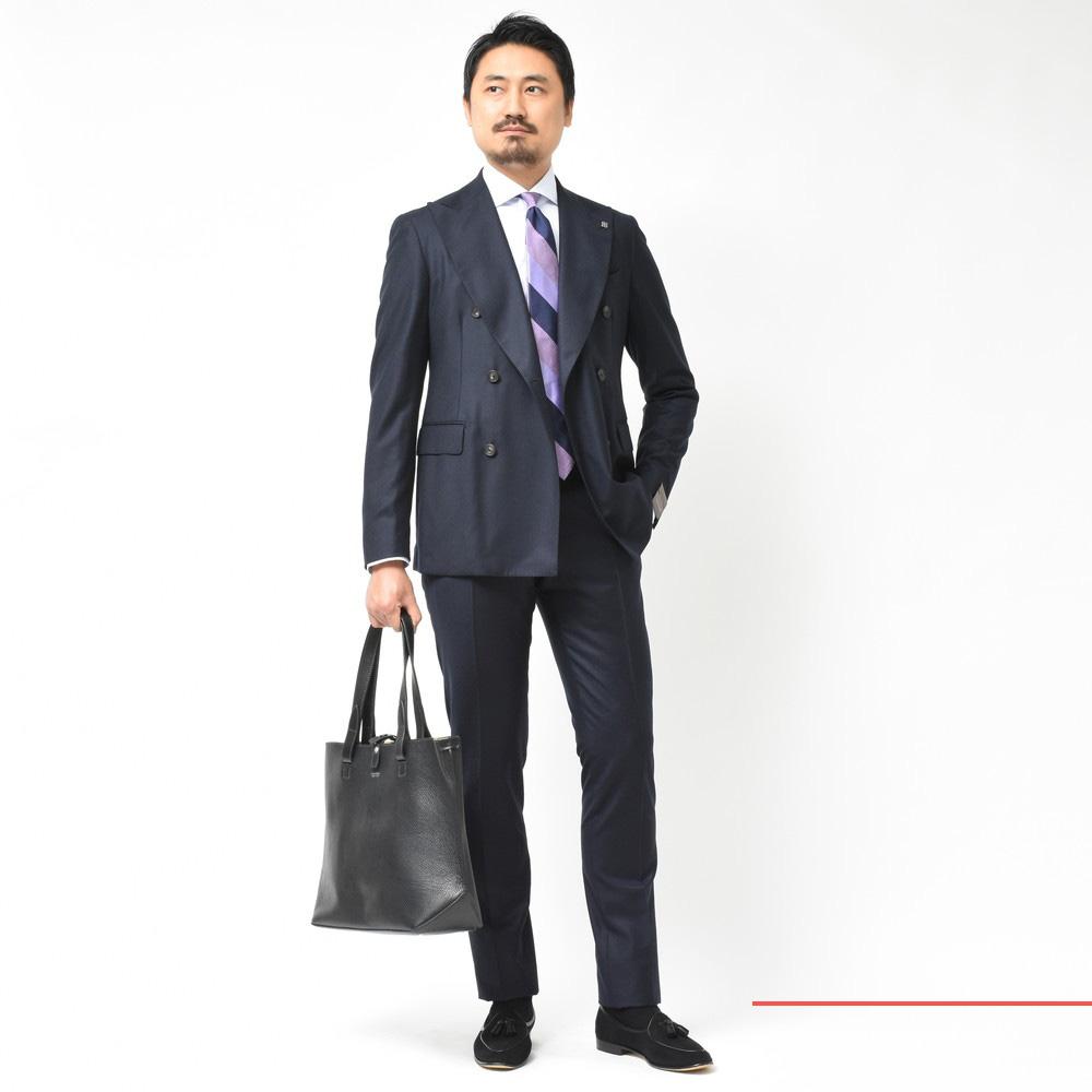 イタリアンスーツの魅力をお届けします!<BR>TAGLIATORE(タリアトーレ)スーツ2型