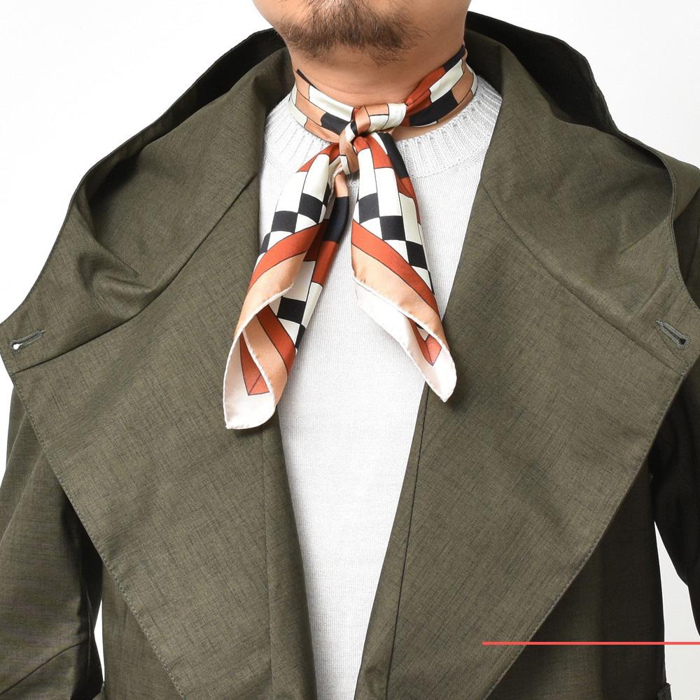 上品な柄物とはこのことです・・・!<BR>ANNEE(アネー) スカーフ4型