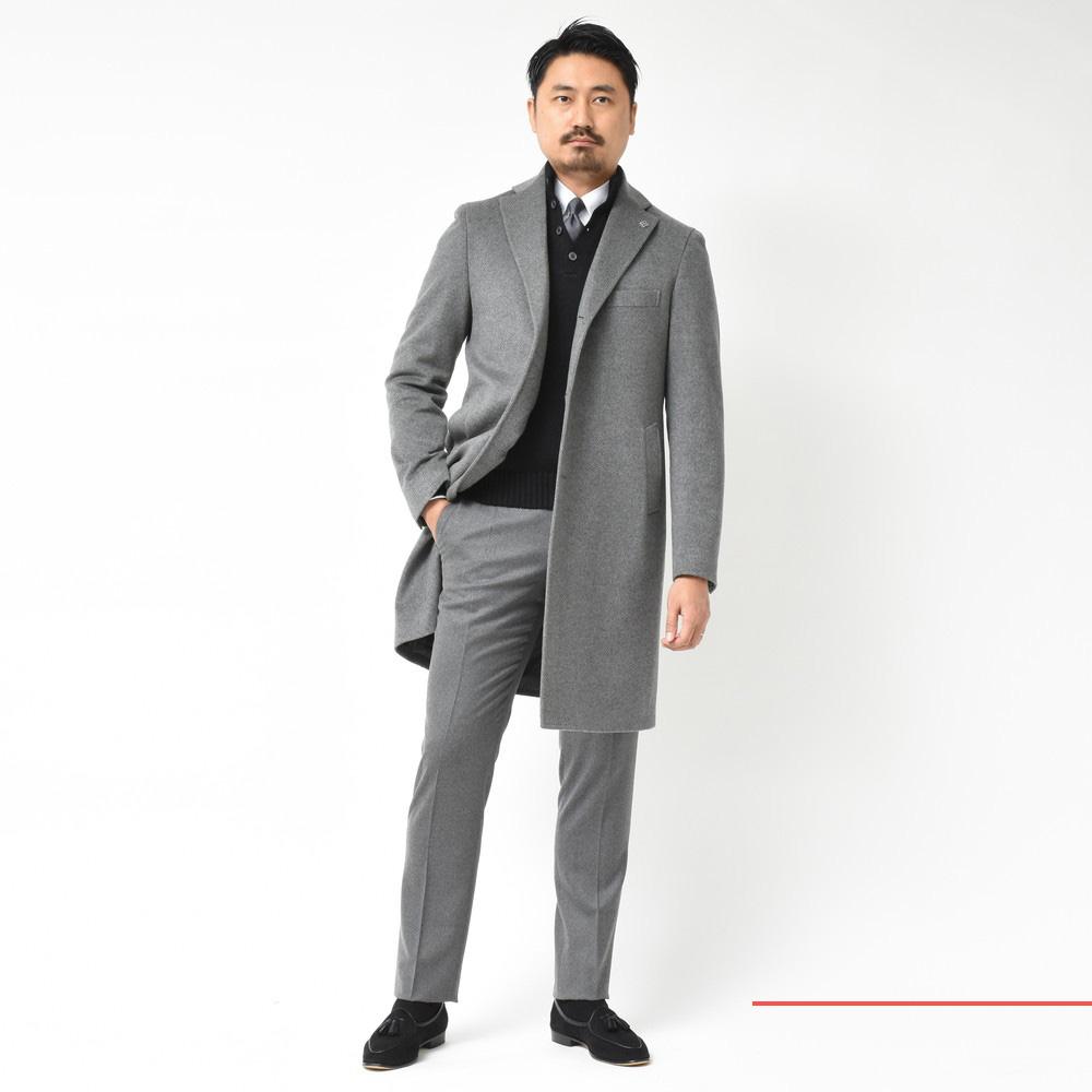 渾身のスペシャルコラボコート!<BR>TAGLIATORE(タリアトーレ)×guji別注コート4型