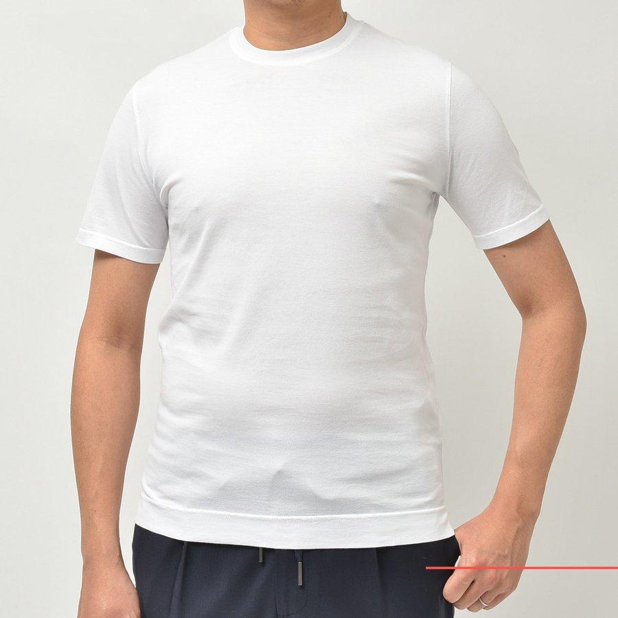 エレガントなカットソーとは<BR>FEDELI(フェデーリ) オーガニックギザコットンT シャツ&ZANONE(ザノーネ) アイスコットンクルーネックTシャツ