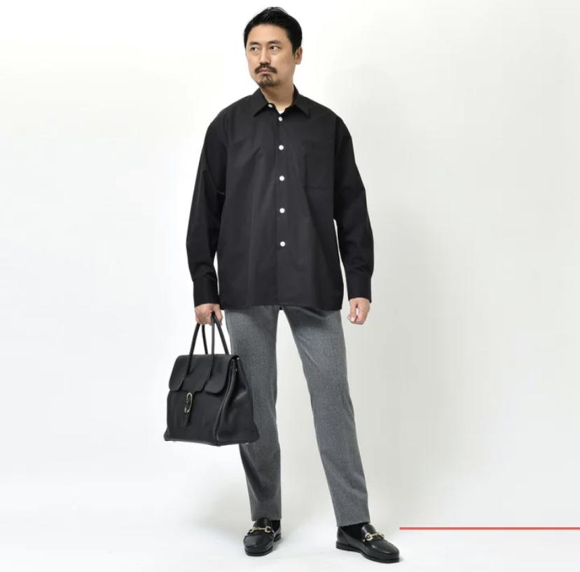 新展開はヨヨギ!?<BR>Bagutta(バグッタ) YOYOGI  オーバーサイズドシャツ2型