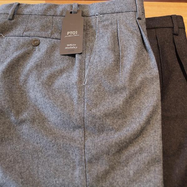 冬の休日に履きたいパンツ!<br>PT01(ピーティーゼロウーノ)パンツ1型