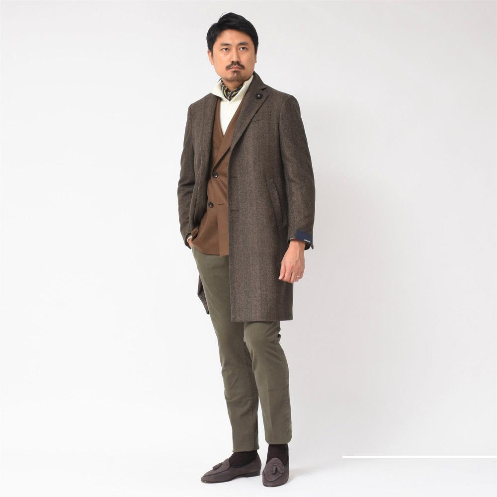 是非一度袖を通して頂きたい、そんなアイテムのご紹介です。<BR>LARDINI(ラルディーニ)コート1型