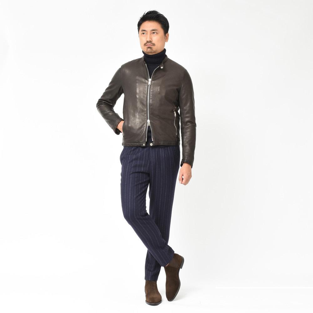 人気のレザージャケットが秋冬仕様に<BR> Delan(デラン)レザージャケット2型