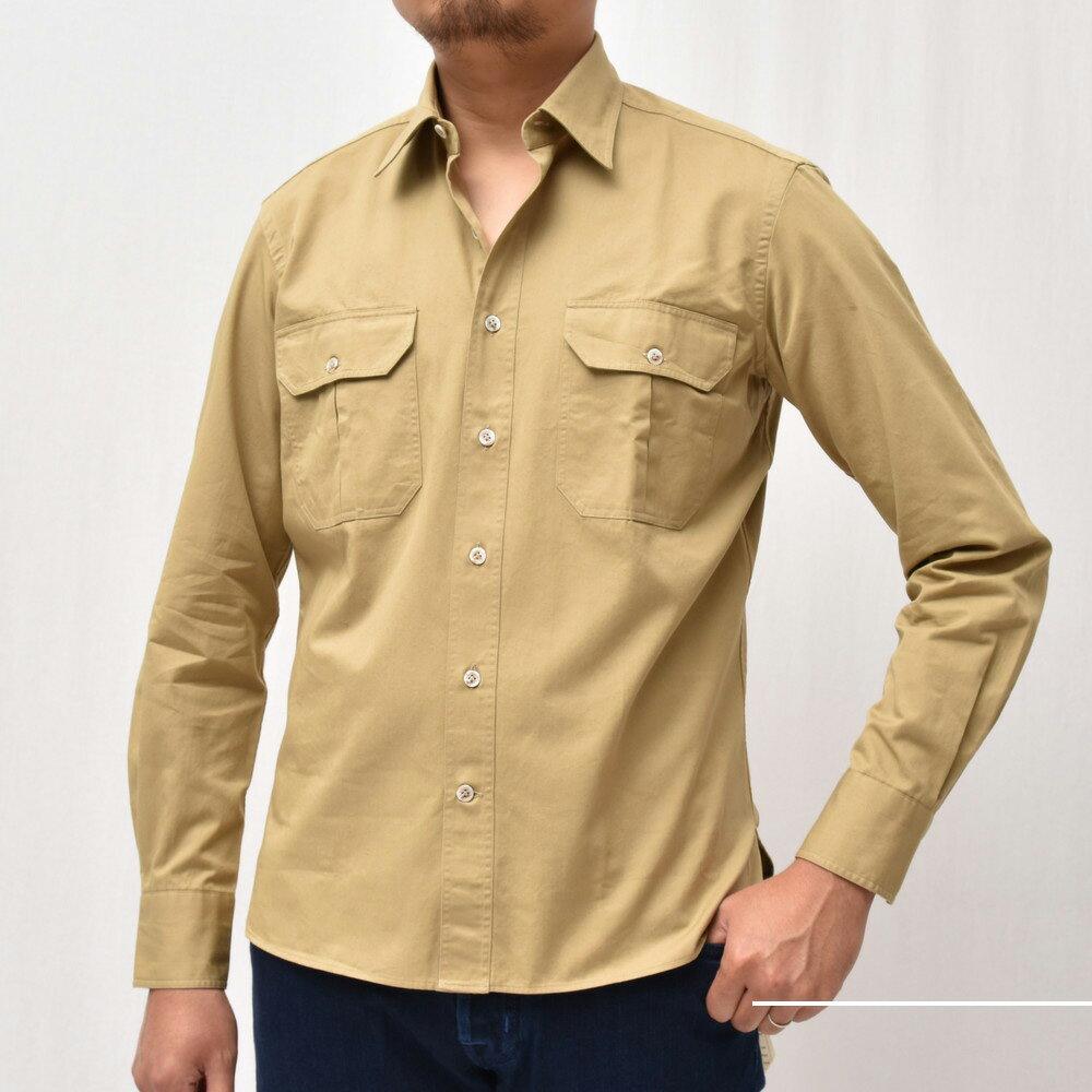 色気あるワークシャツ<BR>Giannetto(ジャンネット)シャツ1型
