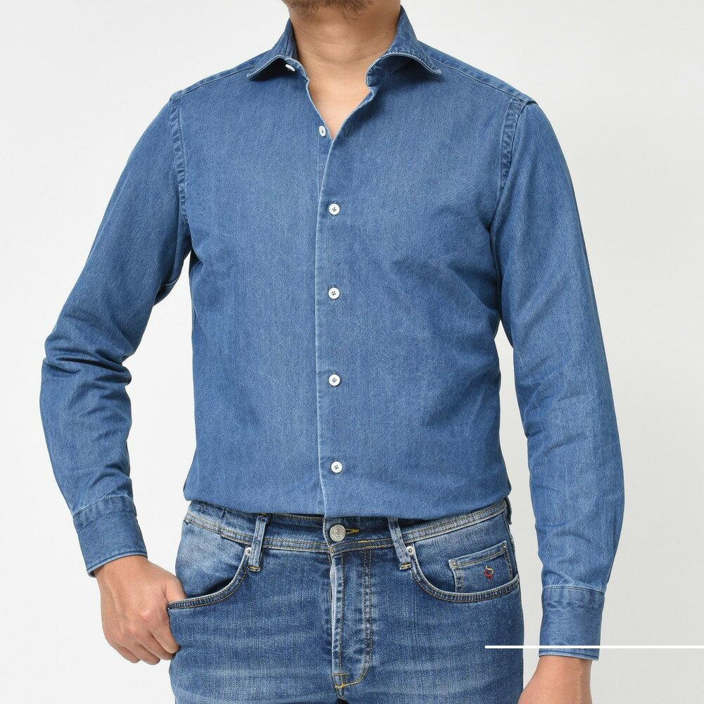 色気とタフさがマッチしたシャツ<BR>Giannetto(ジャンネット)シャツ2型