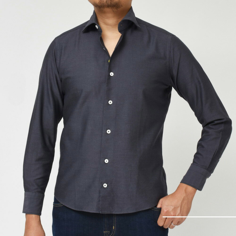 あの人気のシャツに新色追加!!<BR>Giannetto(ジャンネット)シャツ1型