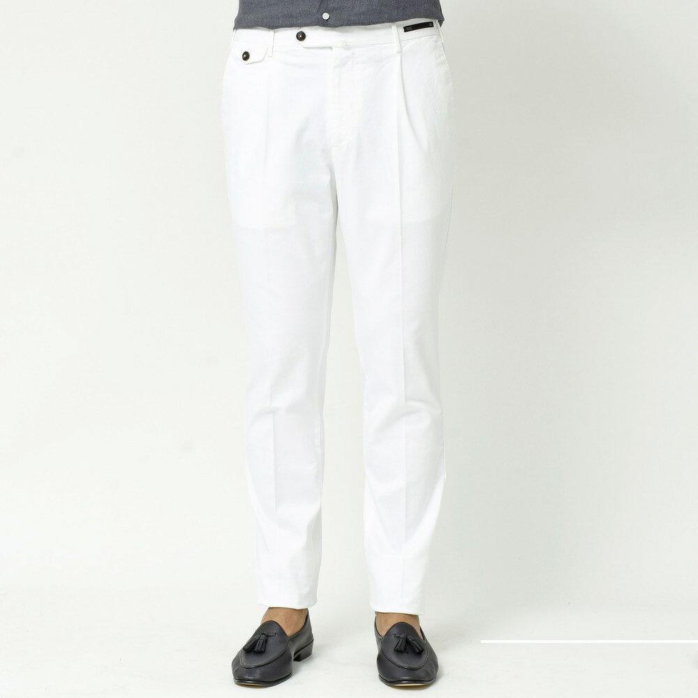 秋冬にもホワイトパンツを。<BR>PT01(ピーティーゼロウーノ)パンツ1型