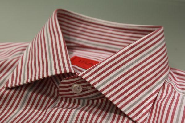14FW版!世界でgujiだけしかないドレスシャツ<BR>ISAIA(イザイア)ワイドカラーFANO