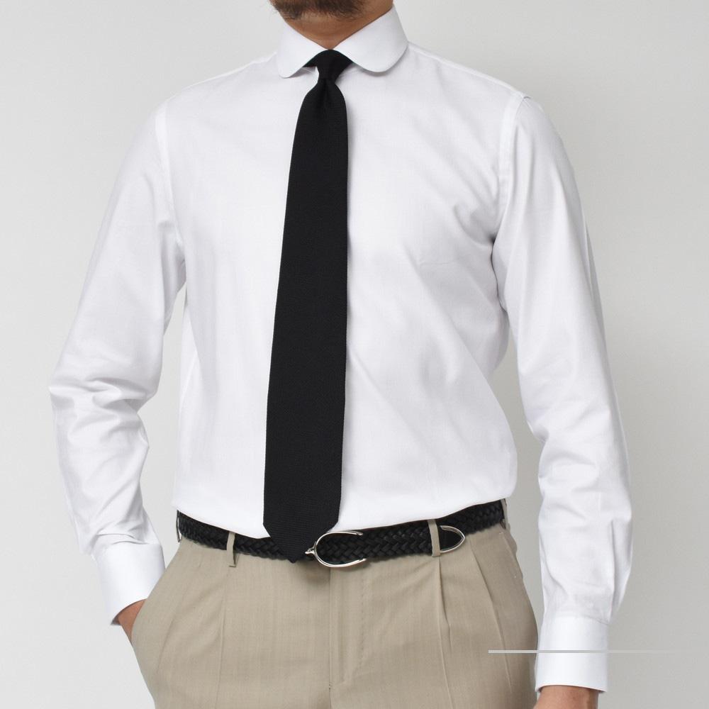Vゾーンに彩りを!<BR>GUY ROVER(ギローバー)ラウンドカラー・クレリックシャツ2型