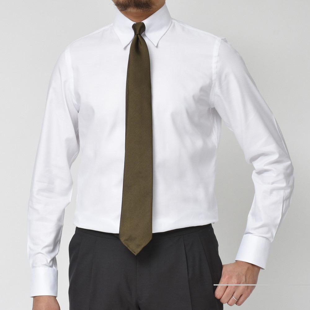 Vゾーンにストイシズムを!<BR>GUY ROVER(ギローバー)タブカラードレスシャツ