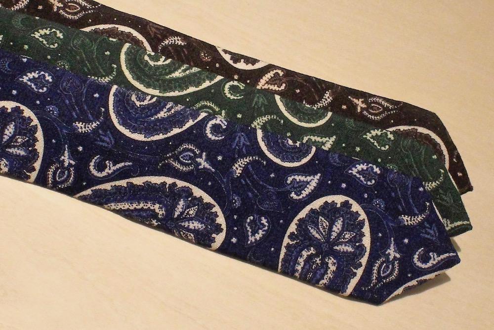 紳士にはこんなネクタイが必須です!<BR>ISAIA(イザイア)ネクタイコレクション