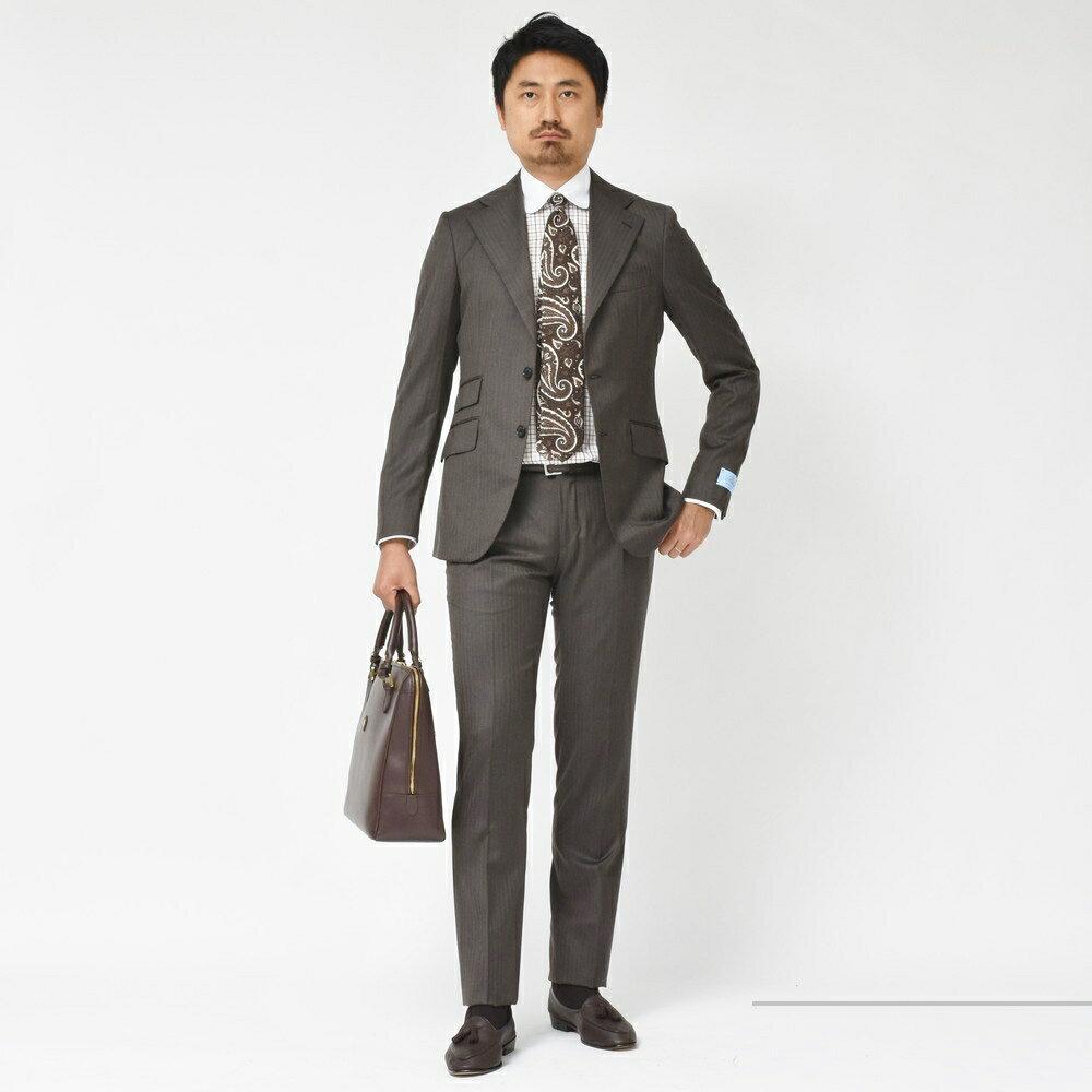 全てを虜にする珠玉の逸品!<BR>Belvest(ベルベスト)CAPSULE COLLECTION(カプセルコレクション)スーツ2型