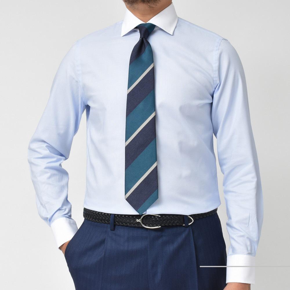 イタリアンシャツの良心。<BR>GUY ROVER(ギ ローバー)クレリックカラーシャツ