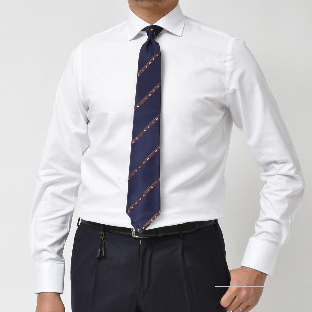 流石!のコスパと満足度かと思います!<BR>GUY ROVER(ギ ローバー)セミワイドカラー&タブカラー ドレスシャツ