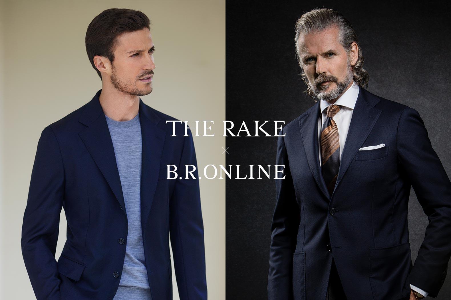 "THE RAKE ×B.R.ONLINE ""ともに推す""この一品は、デ・ペトリロとリングヂャケット"